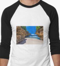 Merrial Beach View Men's Baseball ¾ T-Shirt