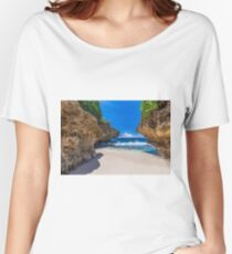Merrial Beach View Women's Relaxed Fit T-Shirt