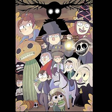 Over The Garden Wall All Of Characters by superkintring