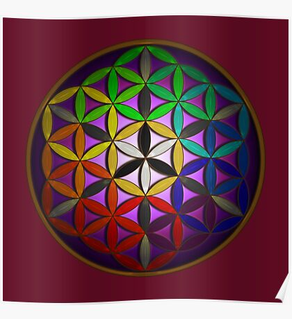 flower of life (spectral) Poster