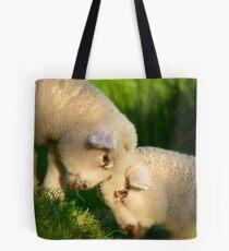 We Know We're Cute & Cuddly...!- Lambs - NZ Tote Bag