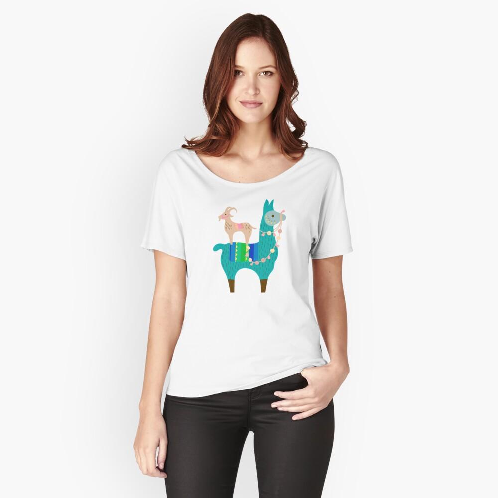 Llama Fun  Relaxed Fit T-Shirt
