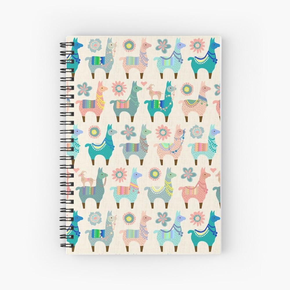 Llama Fun  Spiral Notebook