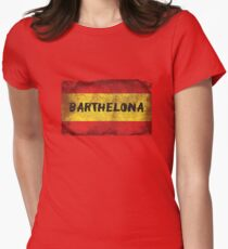 Barthelona Womens Fitted T-Shirt
