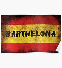 Barthelona Poster
