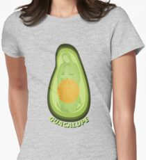 Our Lady of Guacalupe Womens Fitted T-Shirt