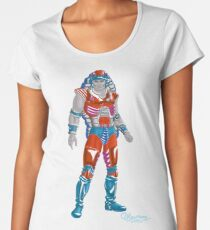 The Reckless Young Warrior of Rock by Kevenn T. smith Women's Premium T-Shirt