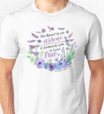 The heart is an arrow Unisex T-Shirt