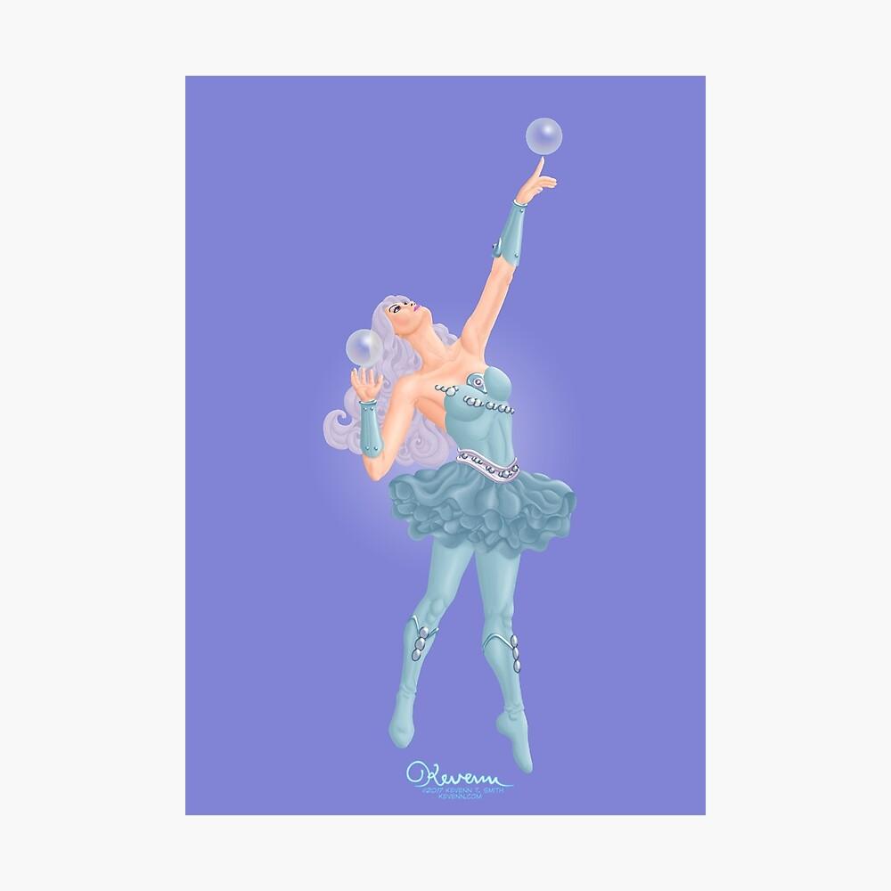 The Joyous Buoyant Bubblerina by Kevenn T. Smith Photographic Print