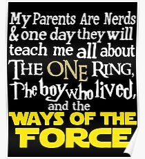 My Parents Are Nerds Poster