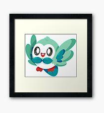 Shiny Rowlet Framed Print