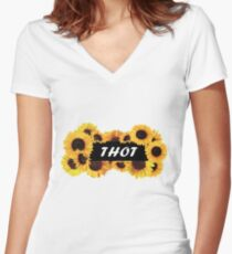 THOT Life Women's Fitted V-Neck T-Shirt