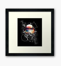 Space Goggles Framed Print