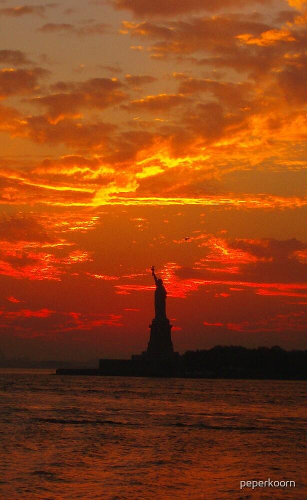 Liberty  Sun by peperkoorn