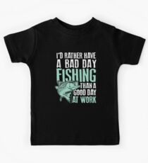 fishing fanatic Kids Tee