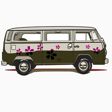 VW combi by LaraAllport