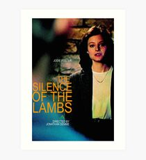 TH SILENCE OF THE LAMBS 30 Art Print