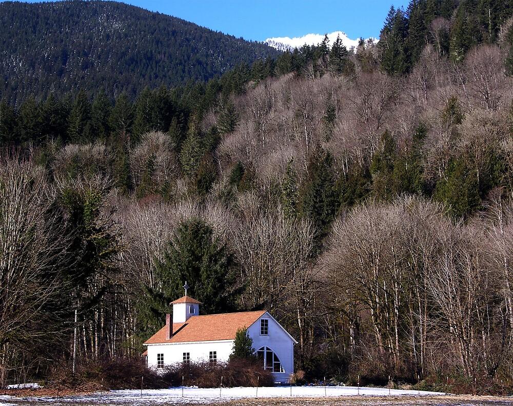 Cascade Mountain Church by Rick Lawler