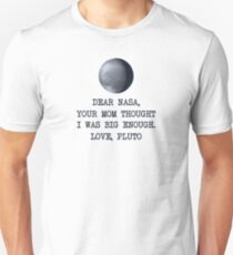 Dear Nasa Love Pluto T-Shirt
