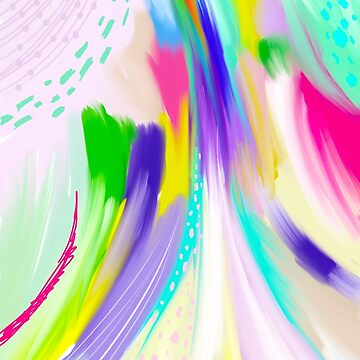 Colorful Abstract Painting by MyArt23