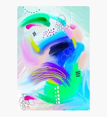 Colorfull Abstract Painting Photographic Print
