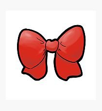 Red Bow! Photographic Print