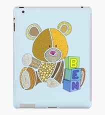 Ben the bear iPad Case/Skin