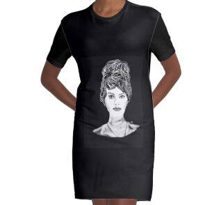 Graphic T-Shirt Dress