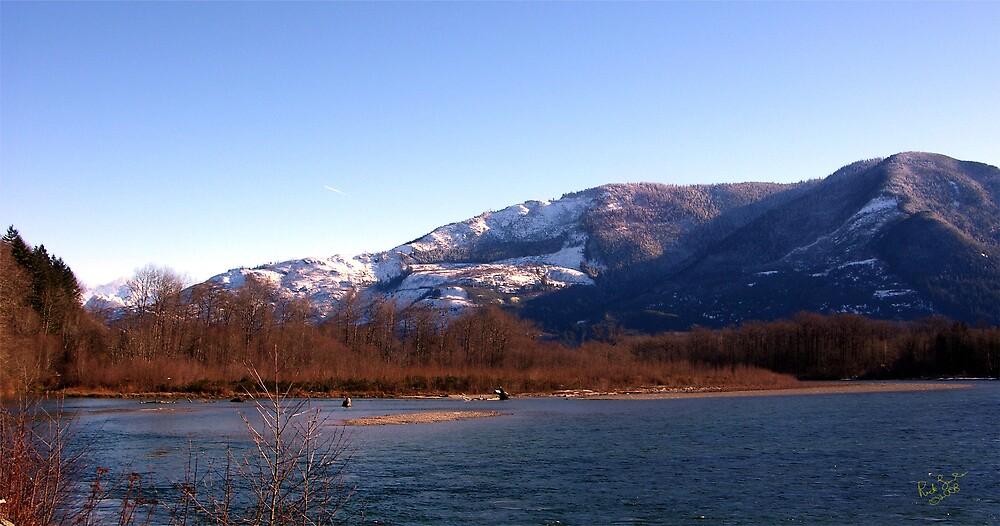Cascade Mountain Landscape Six by Rick Lawler