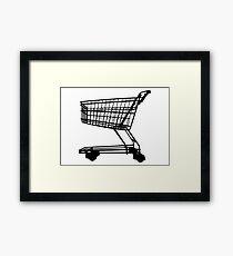 Shopping Trolley Framed Print