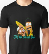 Jay and Silent Bob with logo T-Shirt