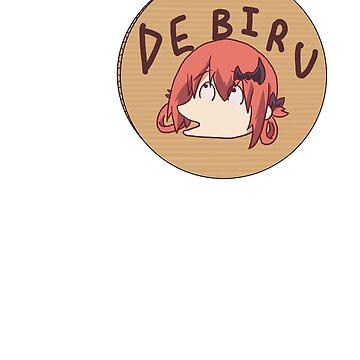 Gabriel Dropout Satania DEBIRU by Deluxion
