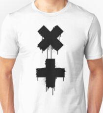 Camiseta ajustada garrix blanco negro