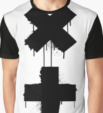 black white garrix Graphic T-Shirt