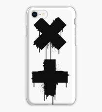 black white garrix iPhone Case/Skin
