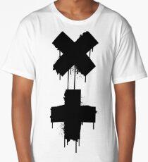 black white garrix Long T-Shirt