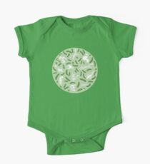 Cats And Cukes - Green One Piece - Short Sleeve