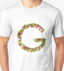 Capital Letter G Part of a set of letters, Numbers and symbols Unisex T-Shirt