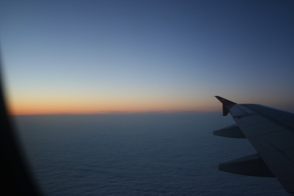 Sunset at 36,000 Feet by jscott40