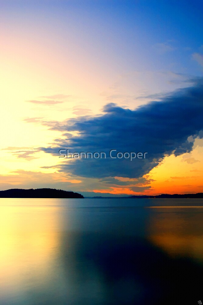 Sunset Lagoon by Shannon Beauford
