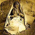 A Woman from Ramah, Palestine 1900 by Dennis Melling
