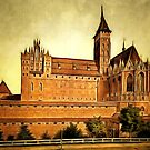 Marienburg, Prussia, Germany c1900 (now Malbork, Poland)  by Dennis Melling