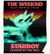 Starboy World Tour 2017 Poster
