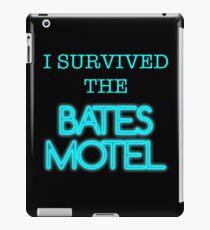 I Survived The Bates Motel iPad Case/Skin