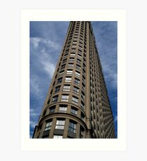 Novatel Building Art Print