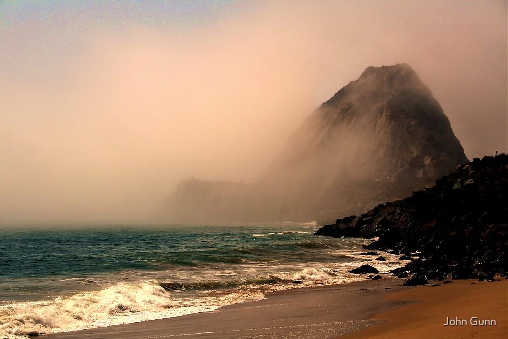 Malibu rocks by John Gunn