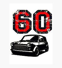 retro 60's Mini Photographic Print