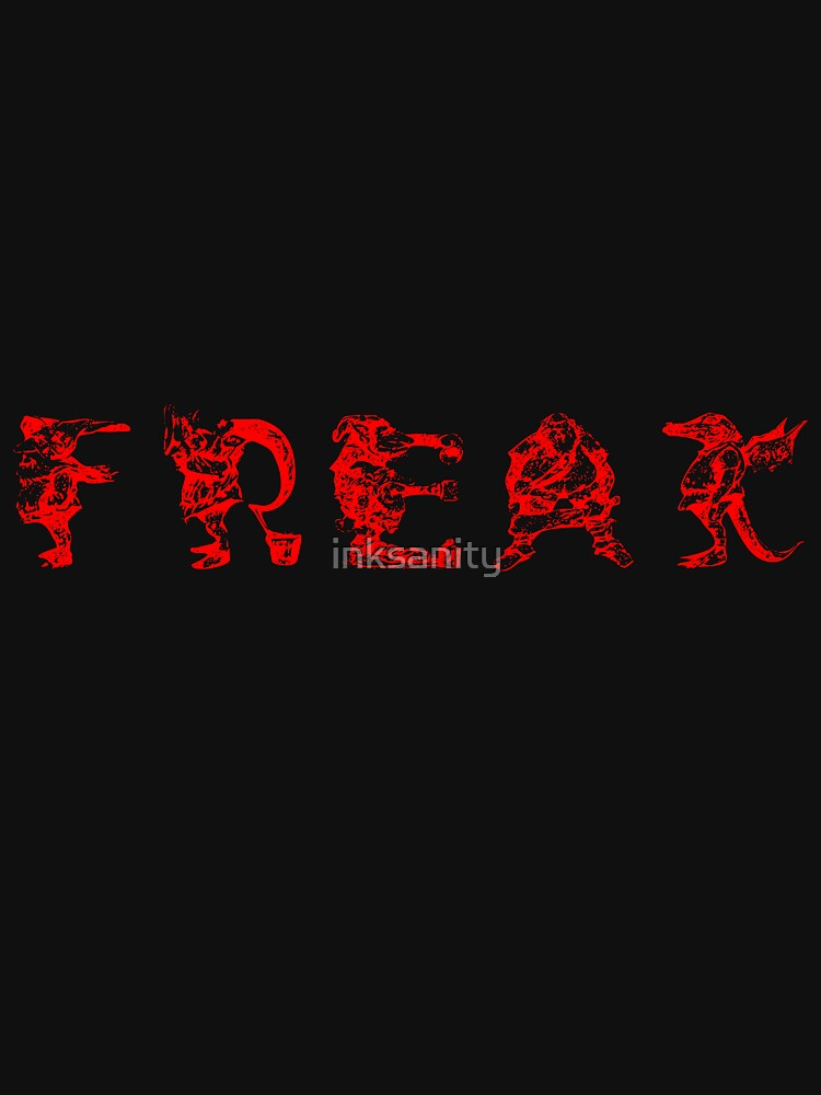 another Freak by inksanity