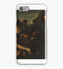Genoese School, 17th Century CHRIST AND SAINT MARY MAGDALENE,  iPhone Case/Skin