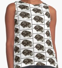 Willie wagtail sketch Contrast Tank